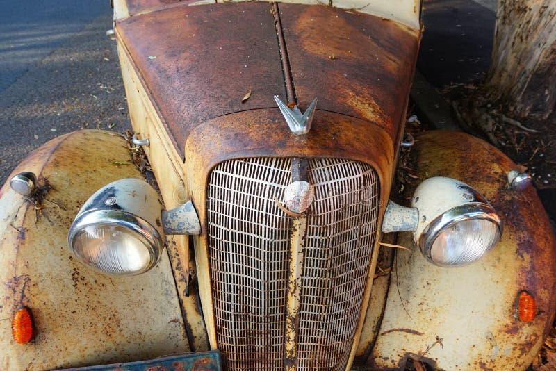 Bedford Ute Detail anziano immagini stock