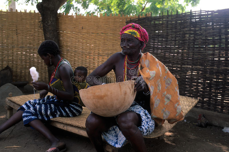 Bediks - Senegal stockfotos