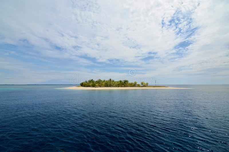 Bedil Islet, Sumbawa, Indonesia. Little island named Bedil near by Kramat island, Sumbawa, Indonesia stock photography