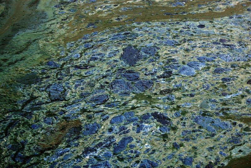 Bedorven Watertextuur Stock Foto's