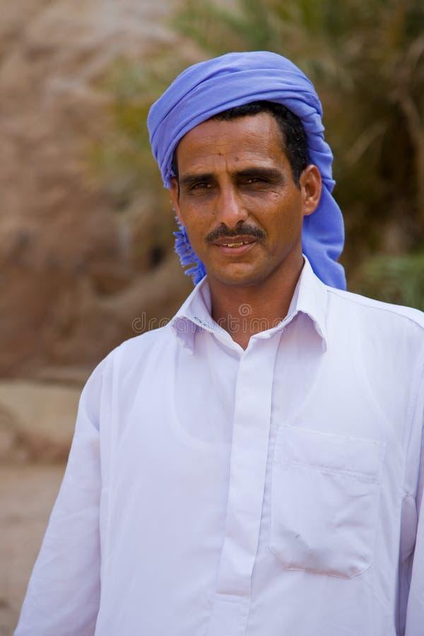Bedouin egiziano fotografia stock