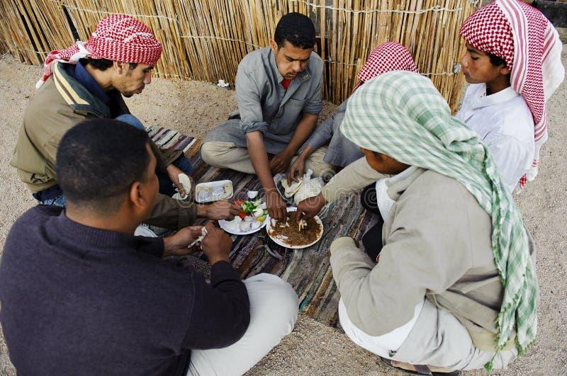 Bedouin men royalty free stock image