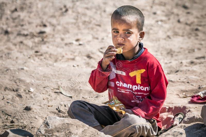 Bedouins Petra zdjęcia stock