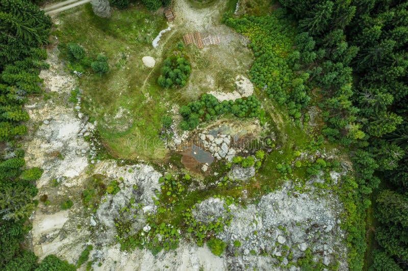 Bedrichov in Liberec region in Czech Republic stock image