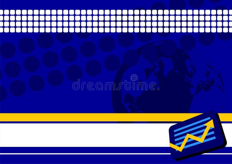 Bedrijfs achtergrond stock illustratie