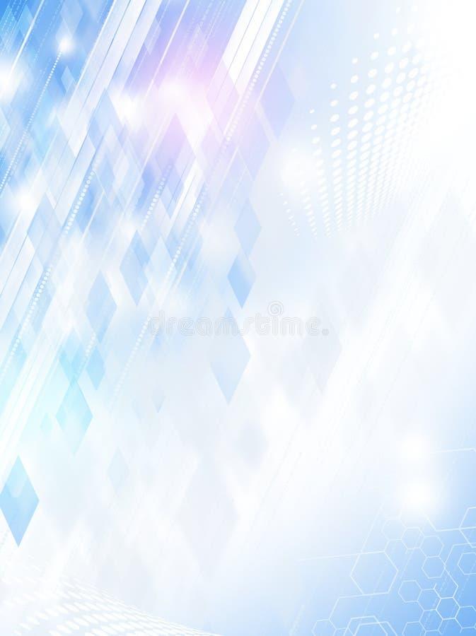De abstracte Achtergrond Bedrijfs van de Technologie vector illustratie
