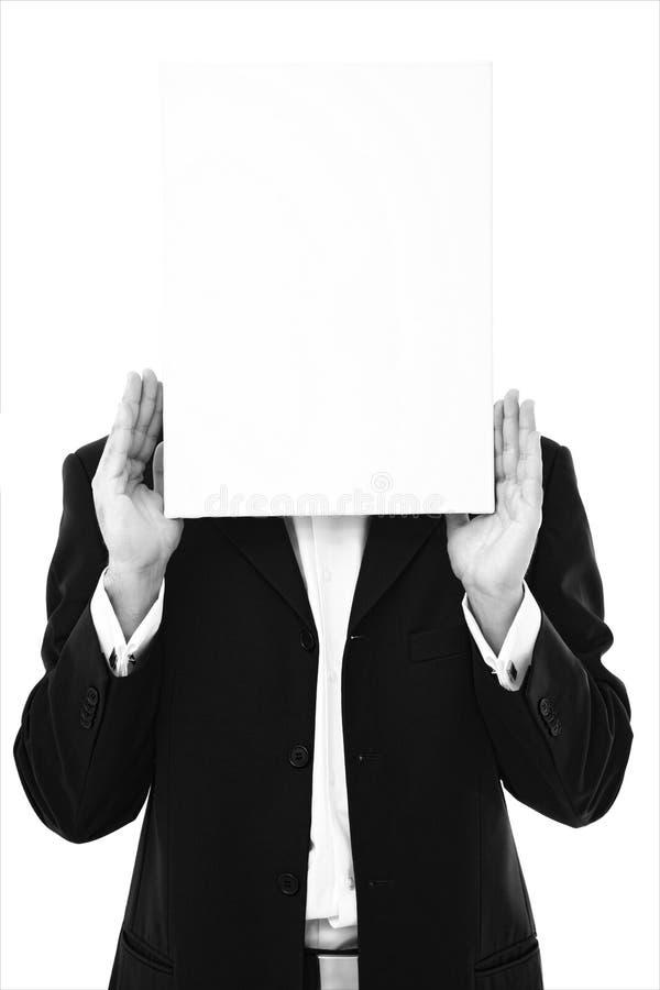 Bedrijfs bericht stock afbeeldingen