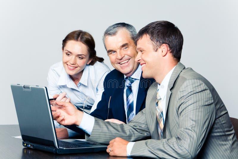 Bedrijfs bespreking royalty-vrije stock foto