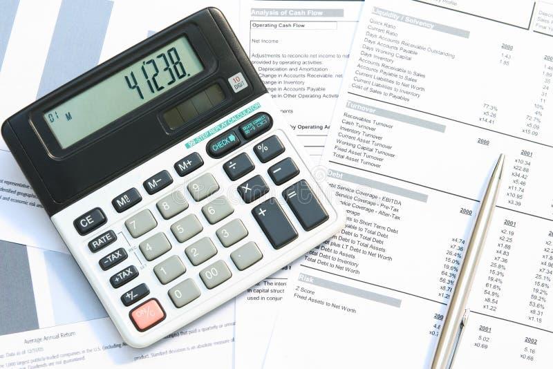 Bedrijfs boekhouding stock afbeeldingen