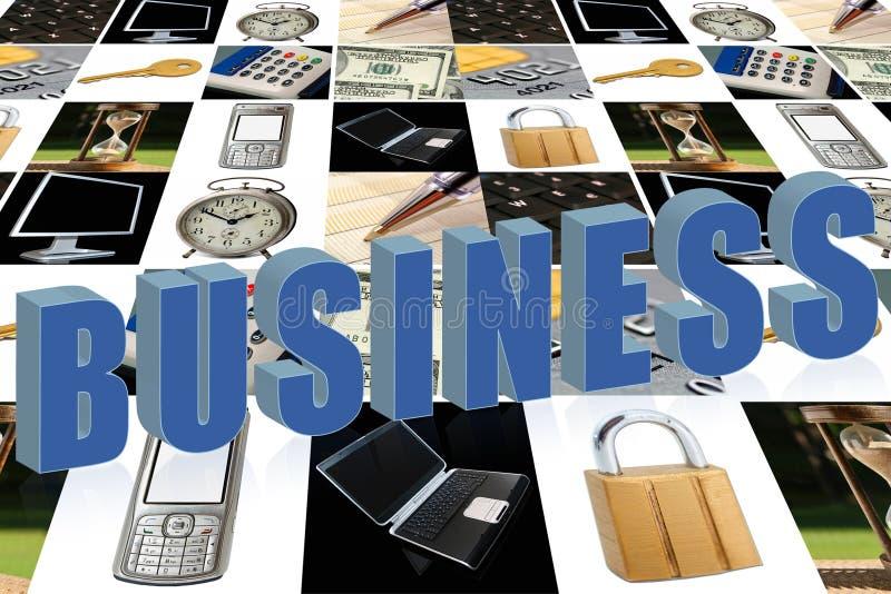 Bedrijfs brieven stock foto's