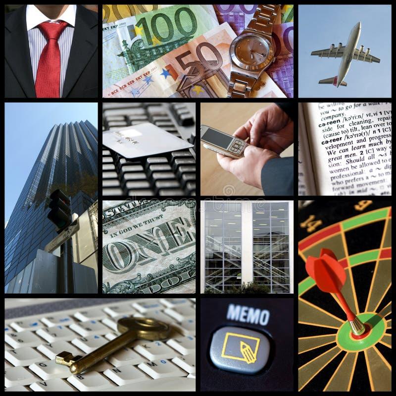 Bedrijfs collage stock afbeelding