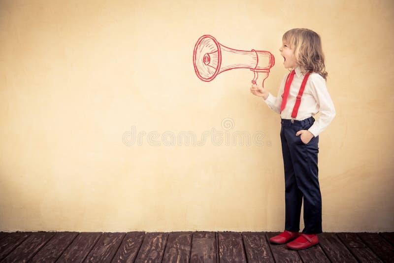 Bedrijfs communicatie concept stock afbeelding