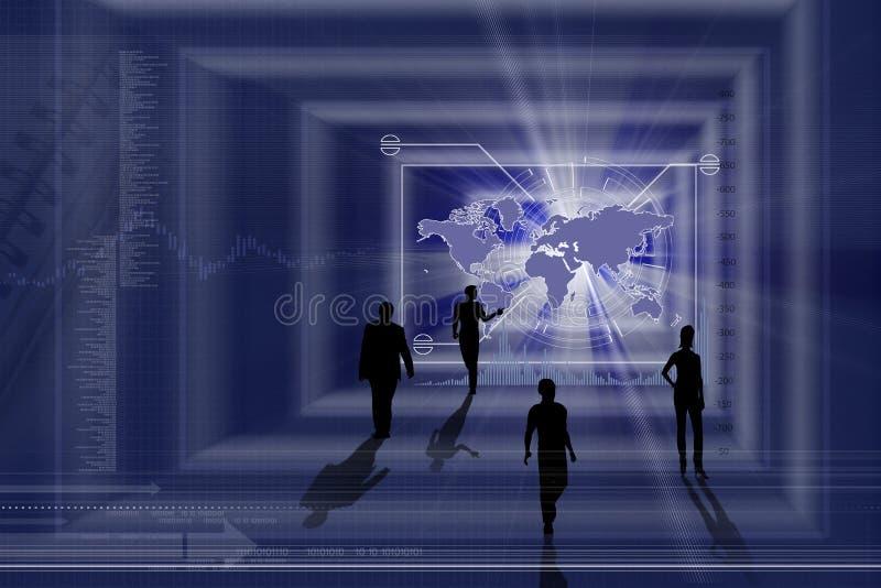 Bedrijfs concept royalty-vrije illustratie