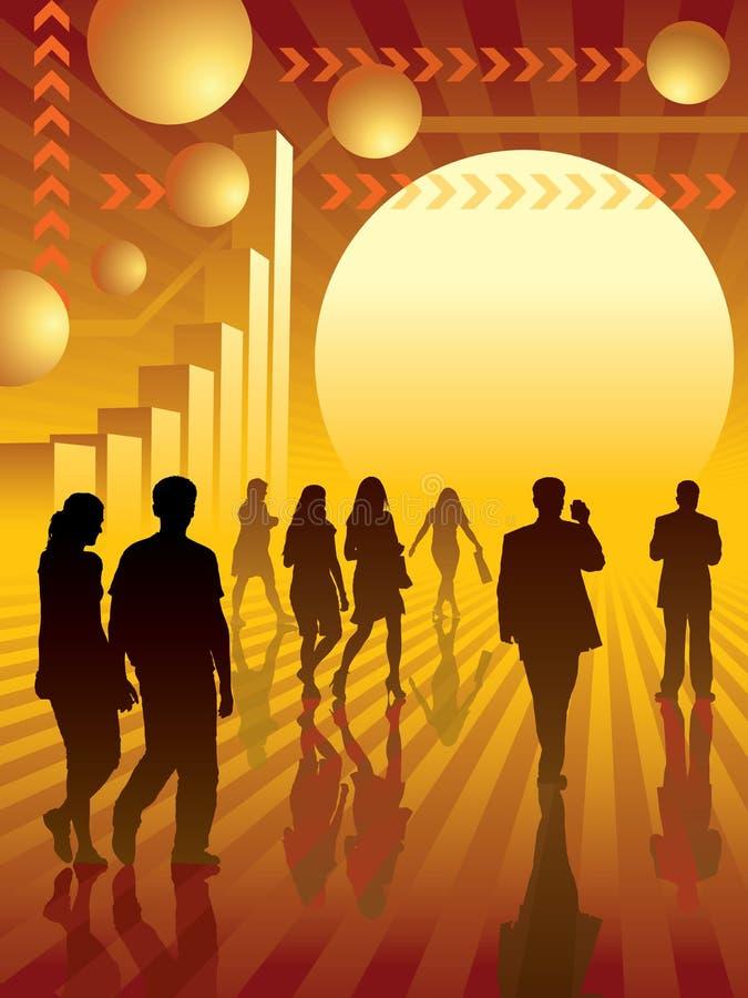 Bedrijfs concept 3 royalty-vrije illustratie