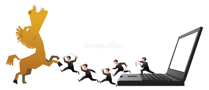 Bedrijfs concept vector illustratie