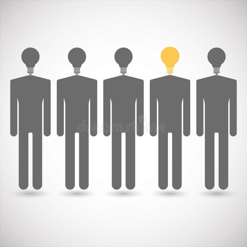 Bedrijfs concept Verhoudingen in team Het schaak stelt bischoppen voor stock illustratie