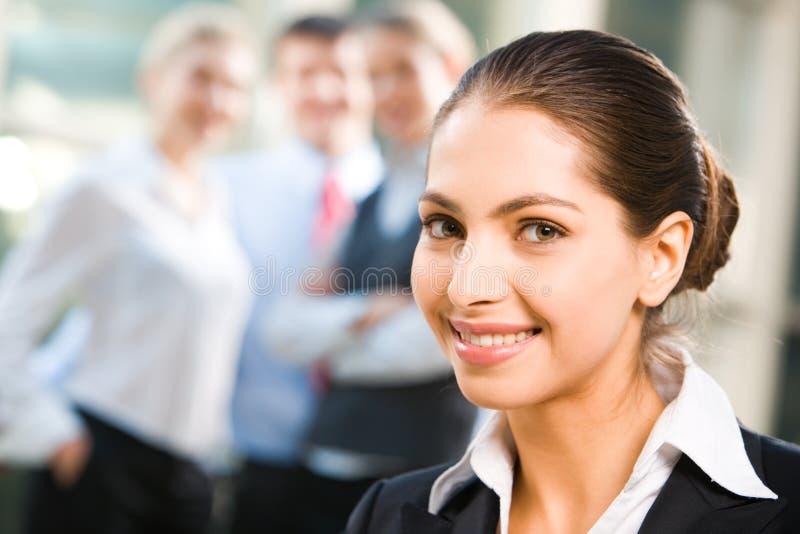 Bedrijfs dame stock afbeelding