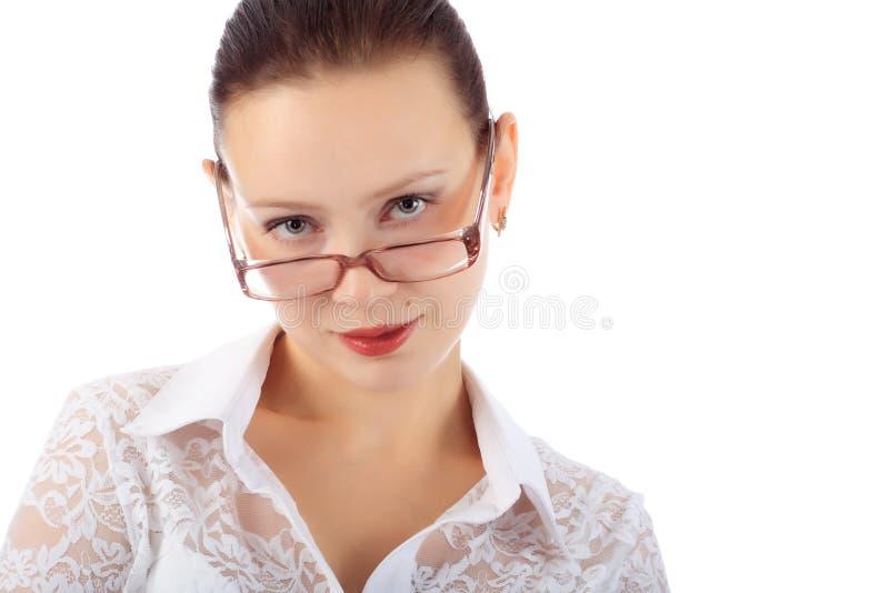 Bedrijfs dame stock foto