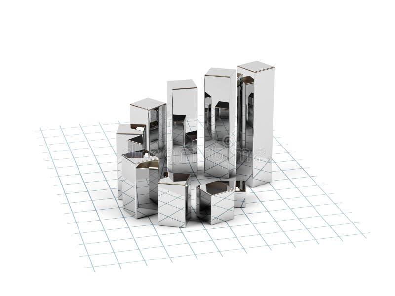 Bedrijfs diagram. vector illustratie