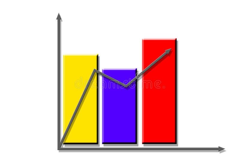 Download Bedrijfs diagram stock illustratie. Illustratie bestaande uit motie - 291652