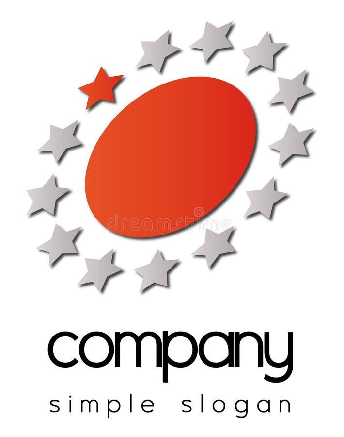 Bedrijfs embleem vector illustratie