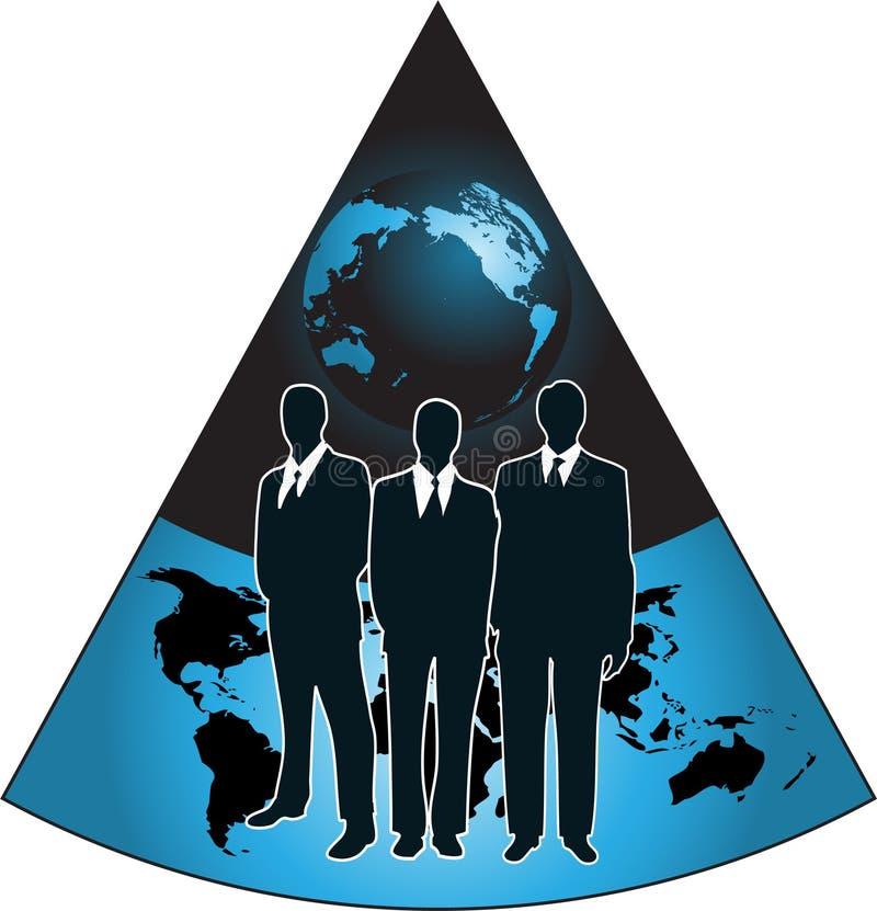 Bedrijfs embleem stock illustratie