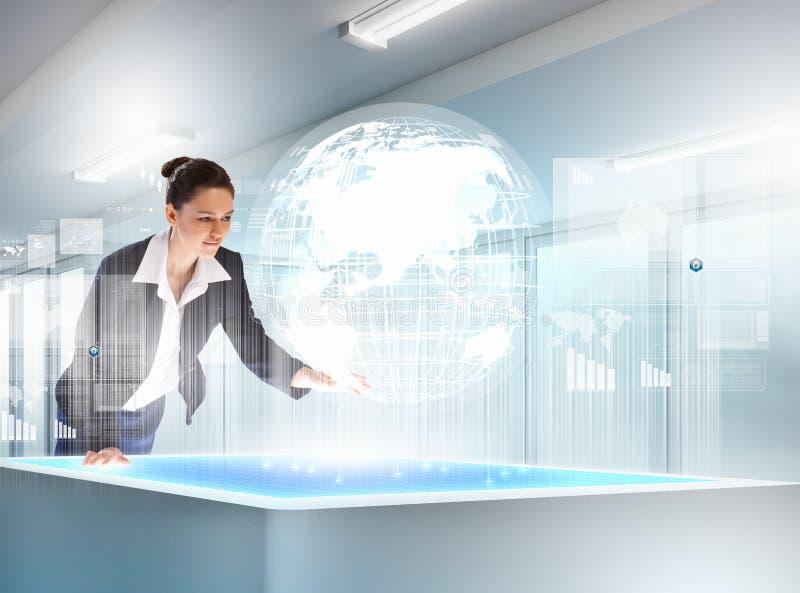 Download Bedrijfs En Communicatie Innovaties Stock Foto - Afbeelding bestaande uit interactie, groep: 29511280