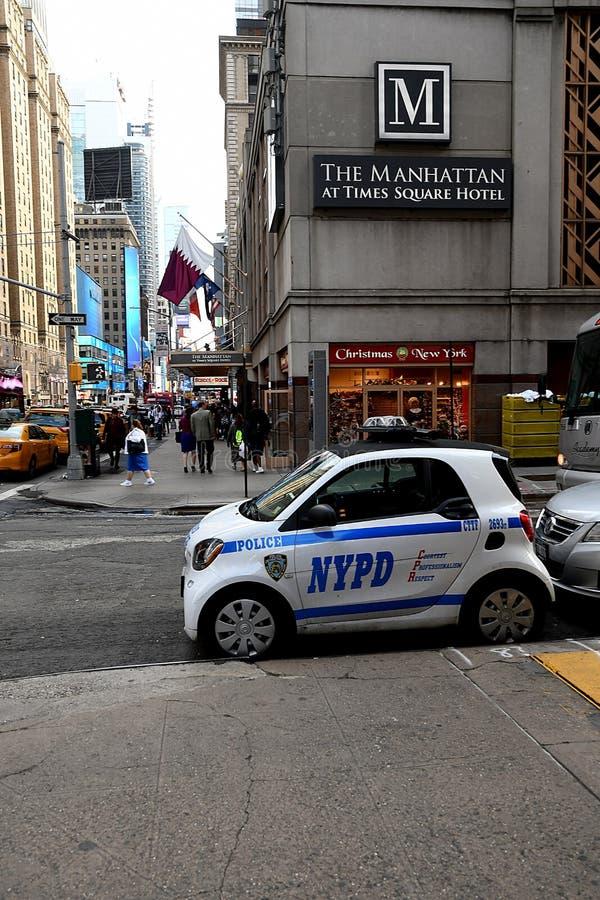 BEDRIJFS EN HET DAGELIJKSE LEVENSTimes Square stock foto