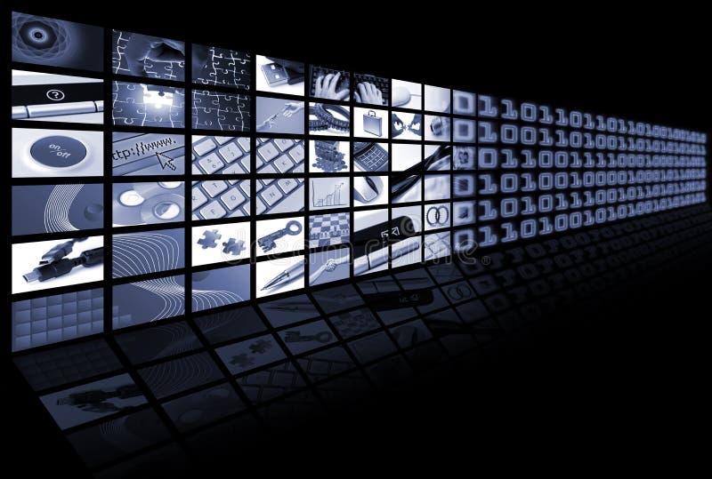 Bedrijfs en technologiesamenstelling royalty-vrije stock foto's