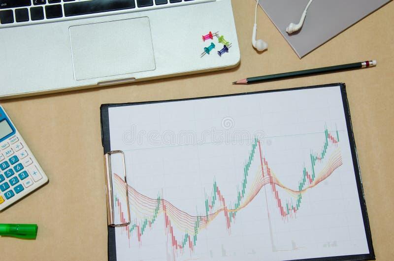 Bedrijfs Financieel document royalty-vrije stock afbeeldingen