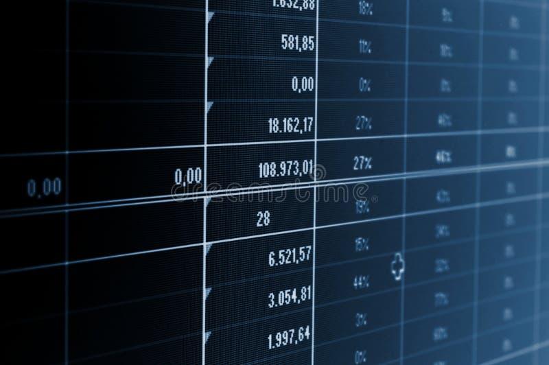 Bedrijfs gegevens stock afbeeldingen