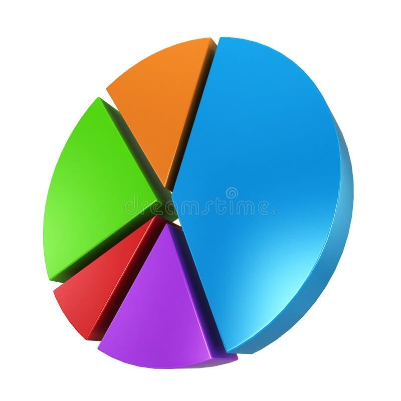 Bedrijfs grafieken stock illustratie