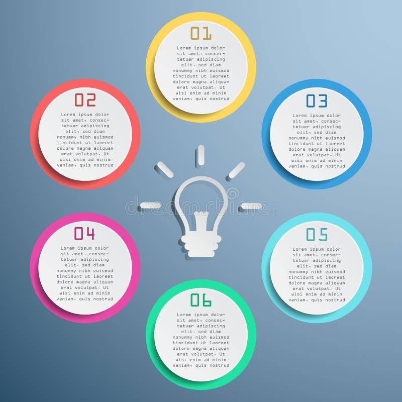 Bedrijfs grafische informatie, rechthoekgrafiek, geleidelijk, manier aan succes stock foto