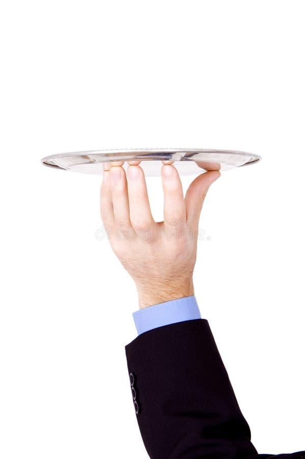 Bedrijfs hand stock foto