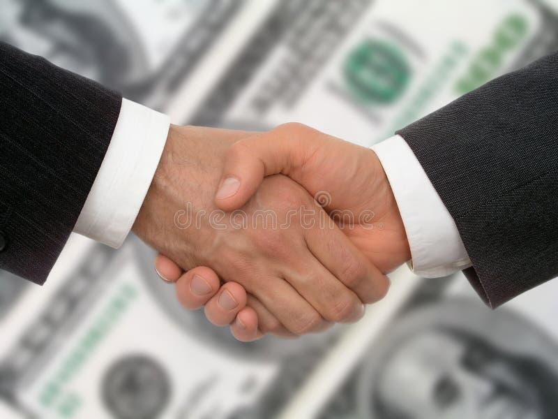 Bedrijfs handdruk royalty-vrije stock foto's