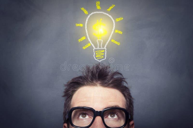Bedrijfs Idee royalty-vrije stock afbeelding