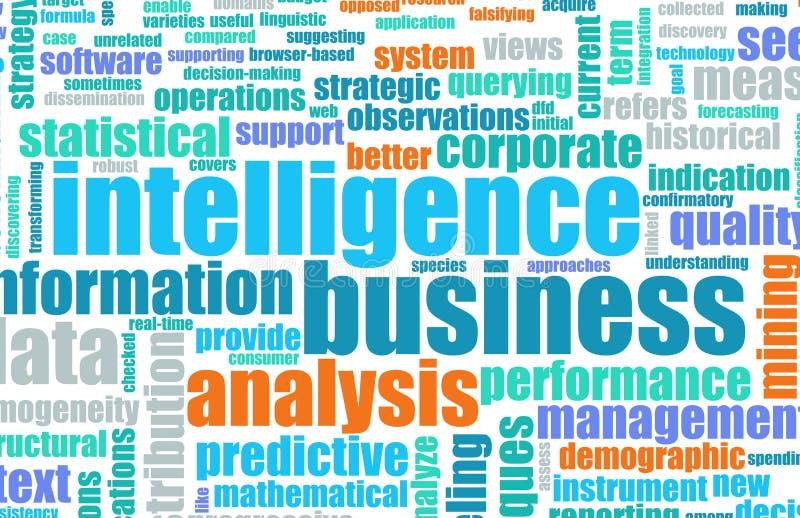 Bedrijfs Intelligentie royalty-vrije illustratie