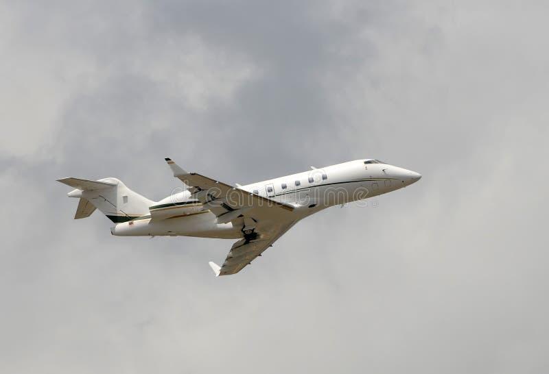 Bedrijfs jet stock foto