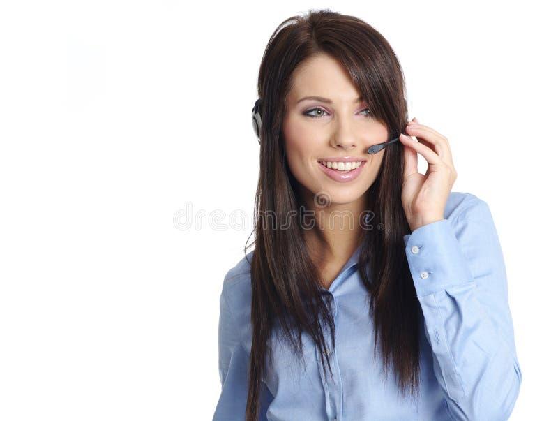 Download Bedrijfs Klantenondersteuning Stock Afbeelding - Afbeelding bestaande uit professioneel, wijfje: 10778361