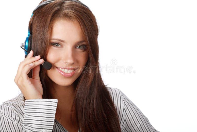 Download Bedrijfs Klantenondersteuning Stock Afbeelding - Afbeelding bestaande uit hoofdtelefoon, centrum: 10778433