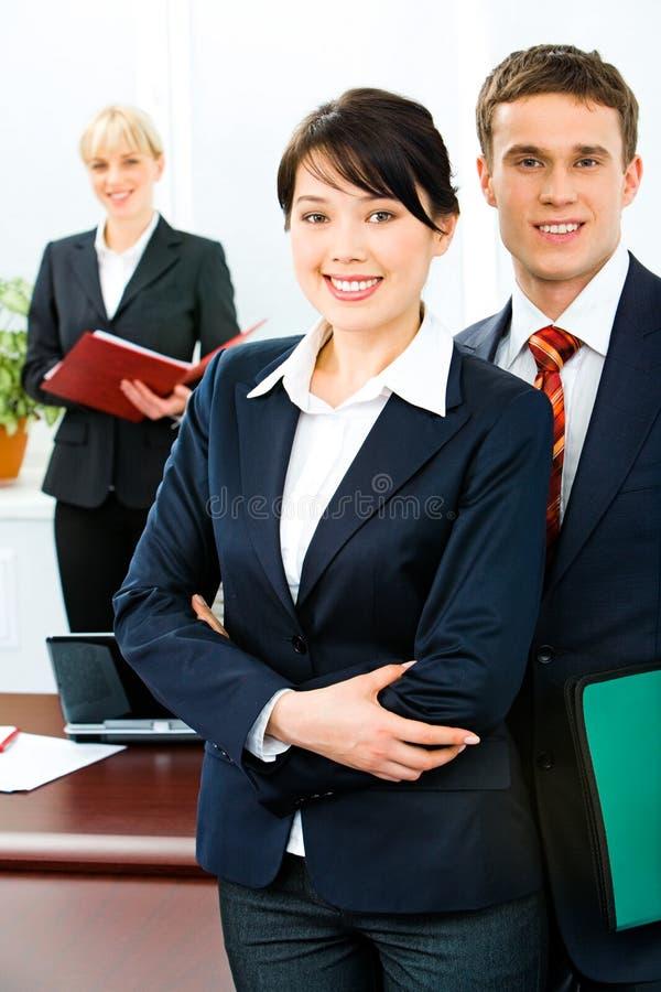 Bedrijfs leiders stock fotografie