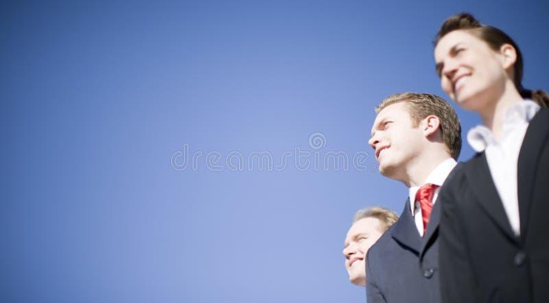 Bedrijfs leiders royalty-vrije stock foto