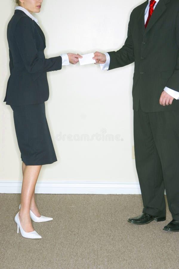 Bedrijfs Man en Vrouw royalty-vrije stock foto's