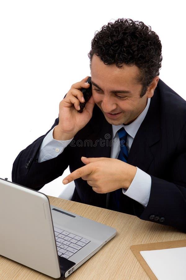 Bedrijfs mededeling stock afbeeldingen