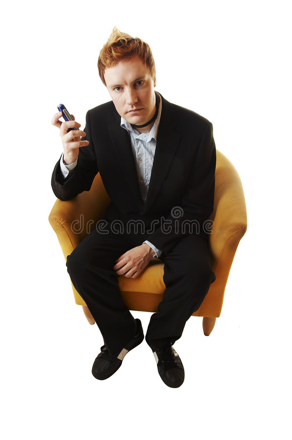 Bedrijfs mens stock afbeelding