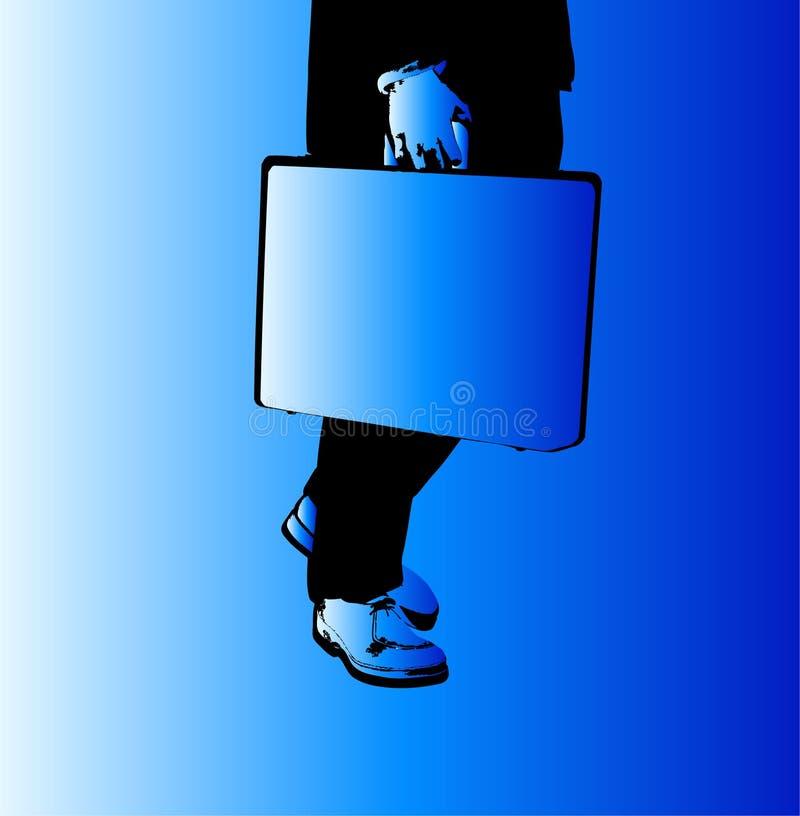 Bedrijfs Mens 2 stock illustratie