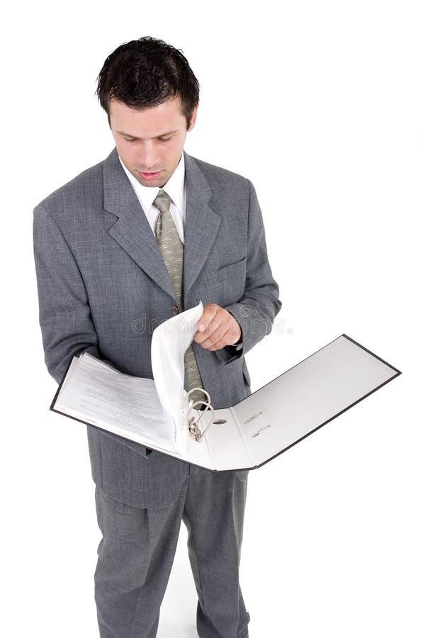 Bedrijfs mens stock foto