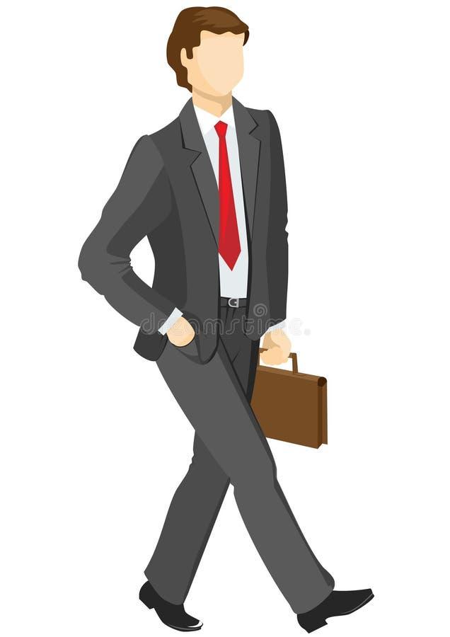 Bedrijfs mens stock illustratie