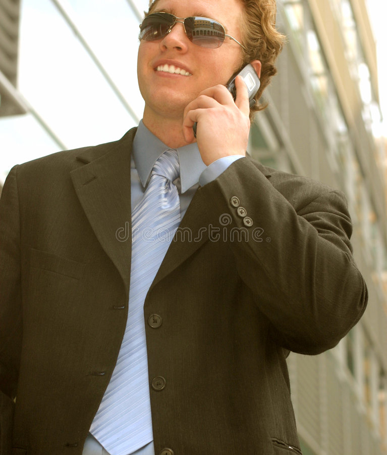 Bedrijfs mens met zonnebril 11 royalty-vrije stock foto's