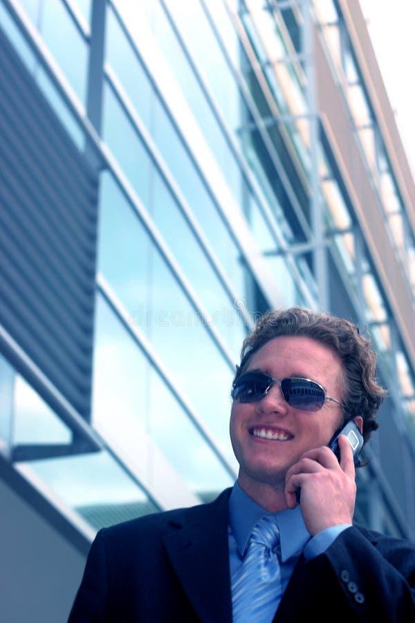 Bedrijfs mens met zonnebril 8 stock foto's